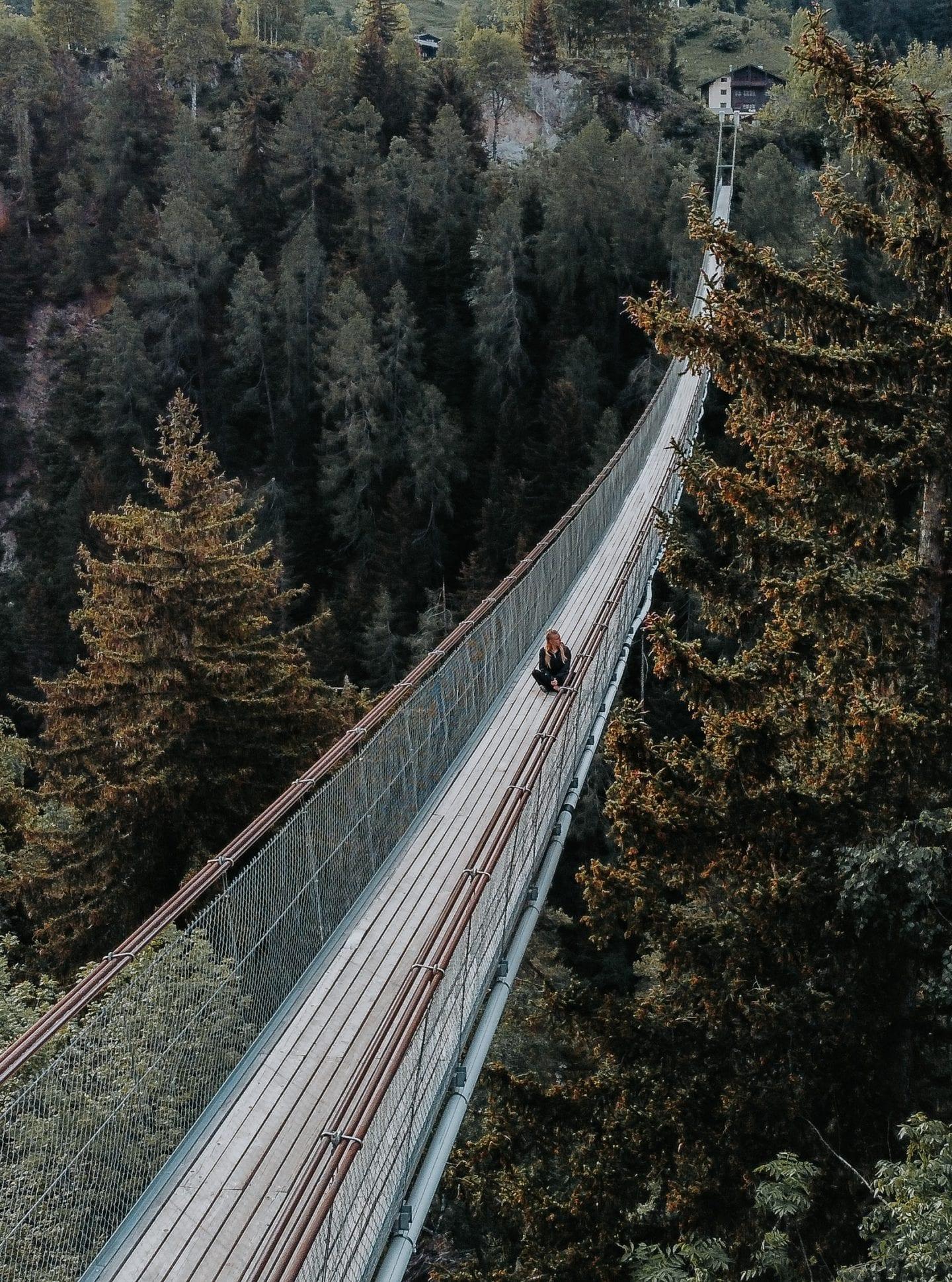 goms bridge wallis switzerland