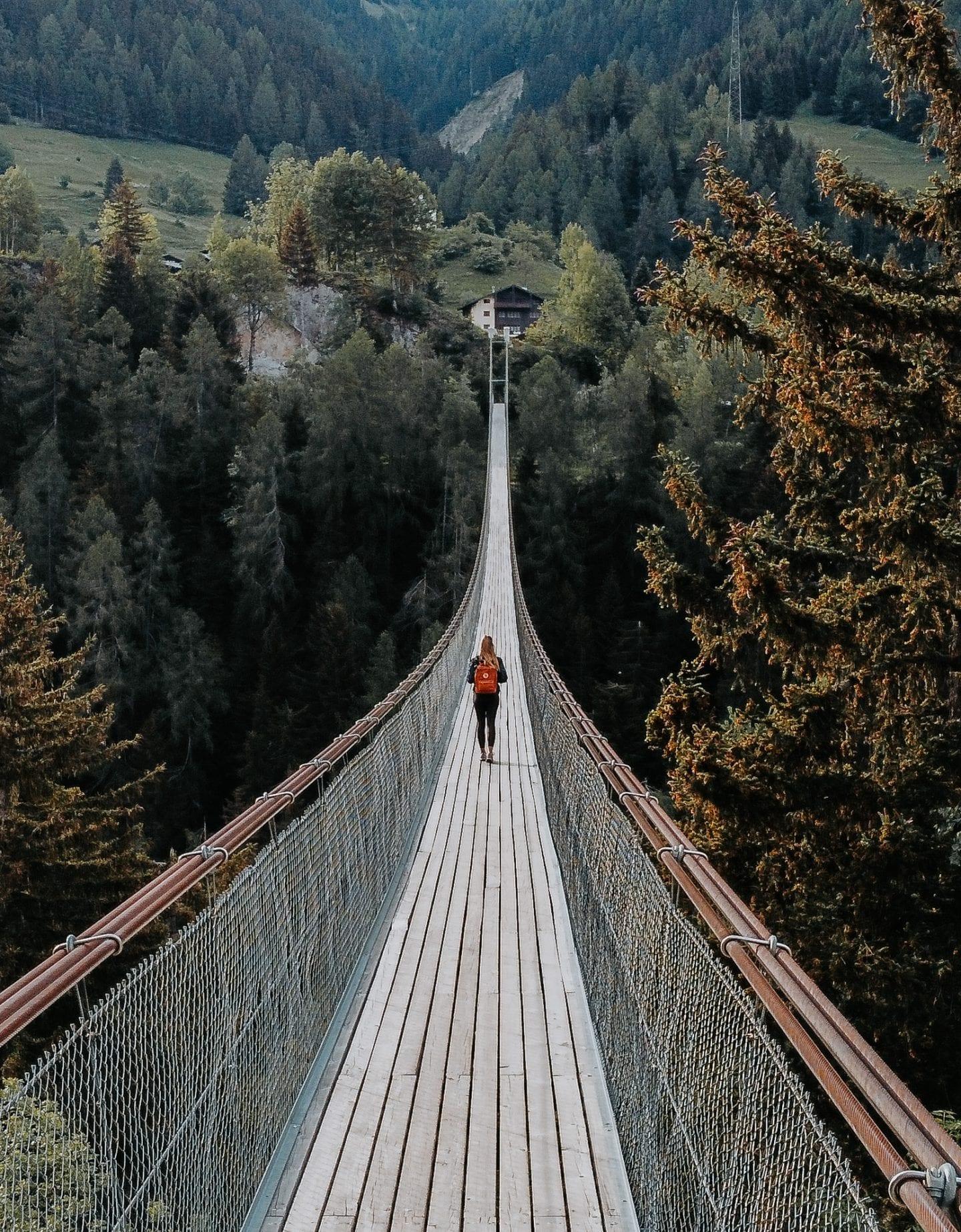 goms bridge bellwald switzerland