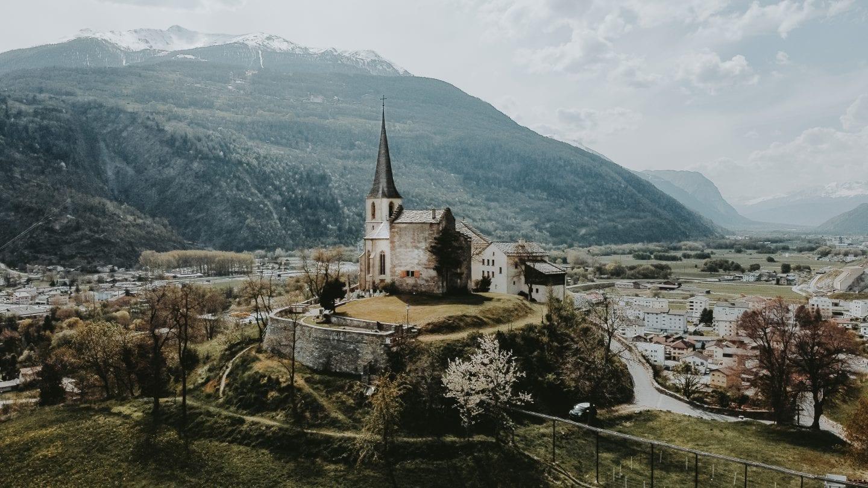 raron, wallis, valais curch burgkirche
