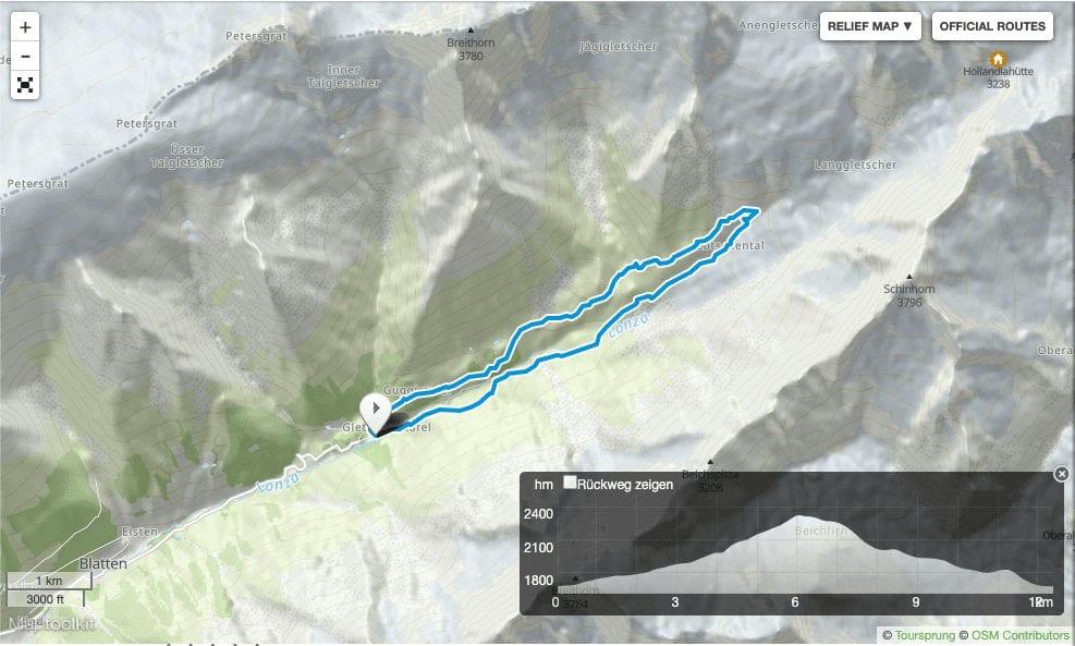 Wanderung Lötschental Fafleralp Wallis